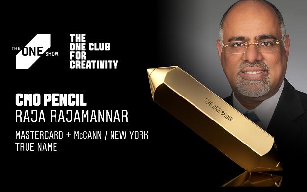 "Mastercard's Raja Rajamannar Wins The One Show 2021 CMO Pencil For ""True Name"""